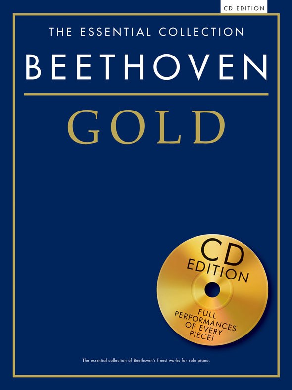 Beethoven Gold Piano Solo