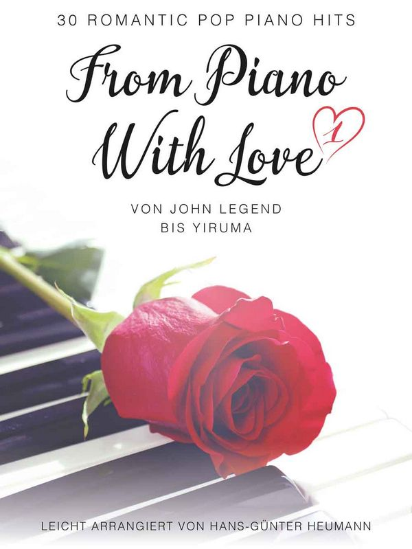 From Piano with Love Notenheft