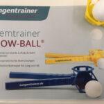 Flow-Ball Lungentrainer Atemtrainer