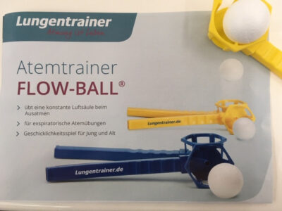 Flow-Ball Lungentrainer Atemtrainer