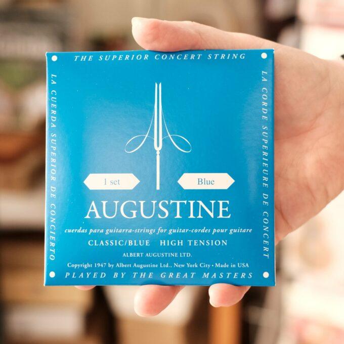 Gitarrensaiten Augustine blau