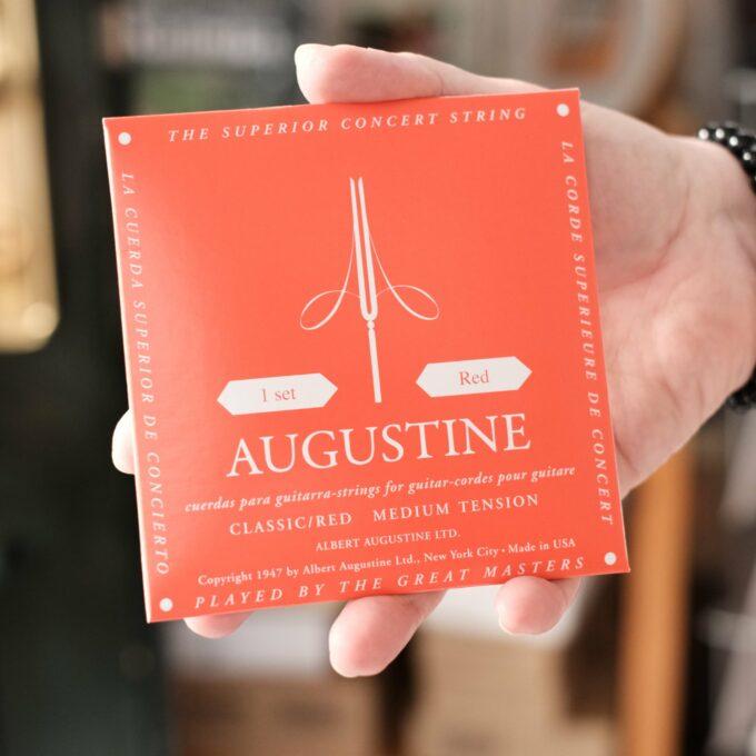 Gitarrensaiten Augustine rot