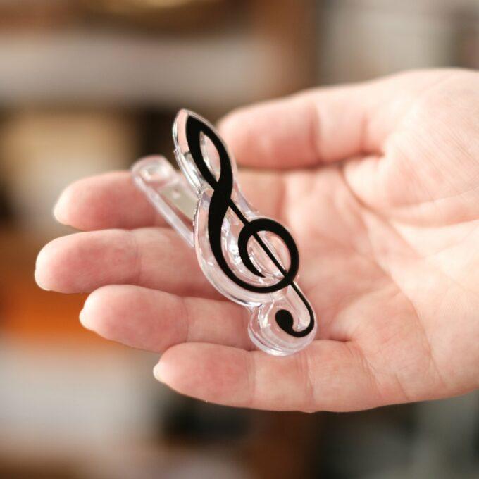 Musik Noten Klammer Violinschlüssel