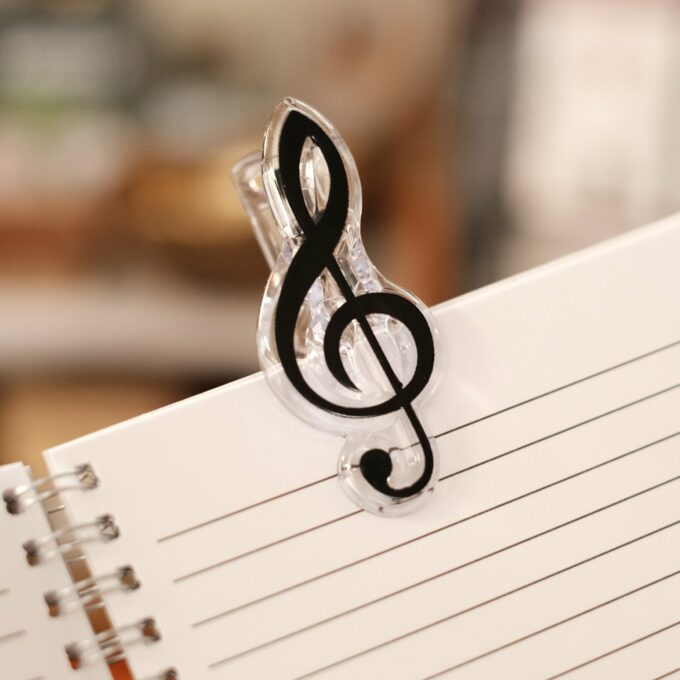 Musik Noten Klammer Violinschlüssel 3