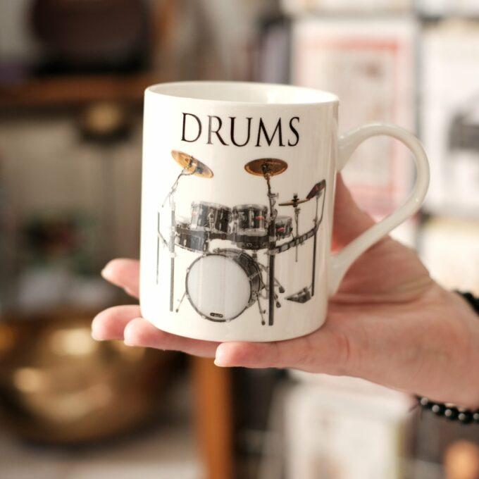 Musik Tasse Becher Schlagzeug