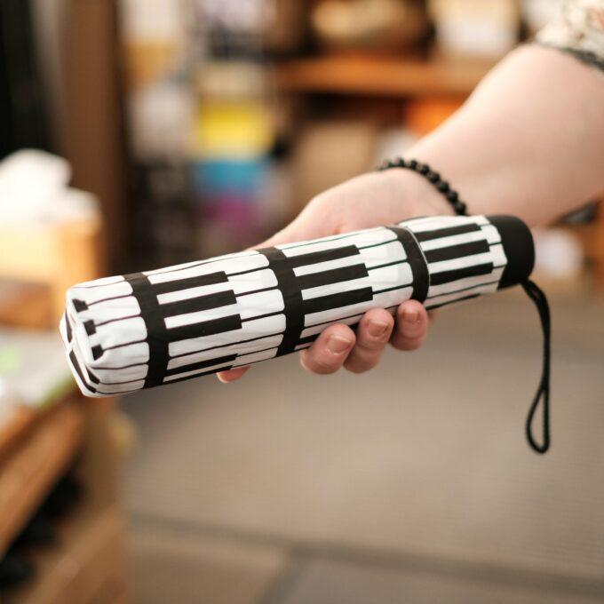 Regenschirm Tastatur Klavier Taschenschirm