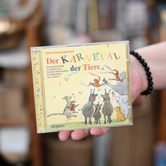 Karneval der Tiere CD Musik-Hörbuch