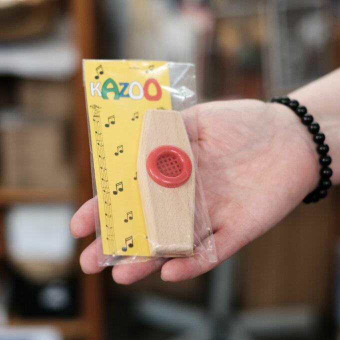 Kazoo Holz für Kinder