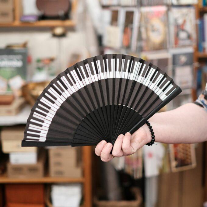 Musik Fächer Tastatur