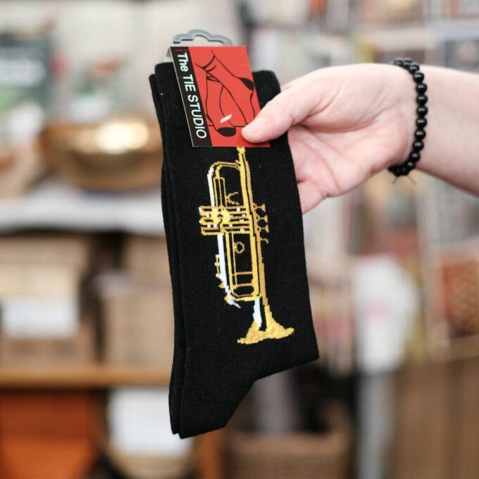 Musik Socken Trompete