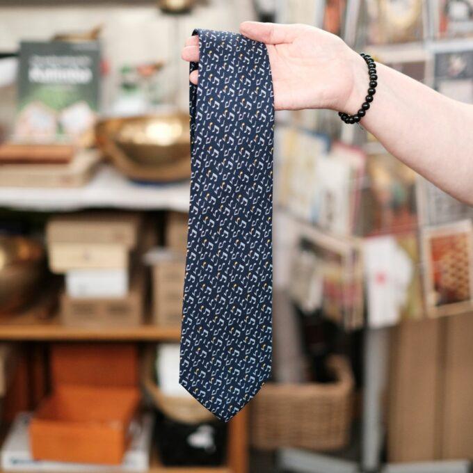 Noten Krawatte Seide